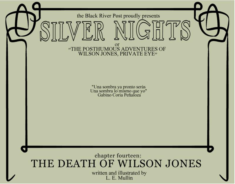 The death of Wilson Jones Cover