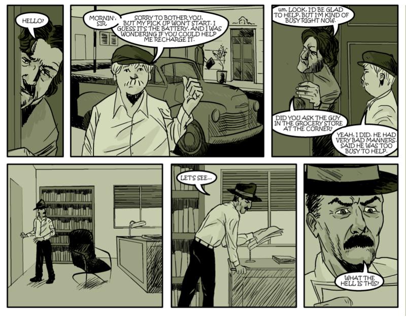 DESTROY THE EVIDENCE Page Six
