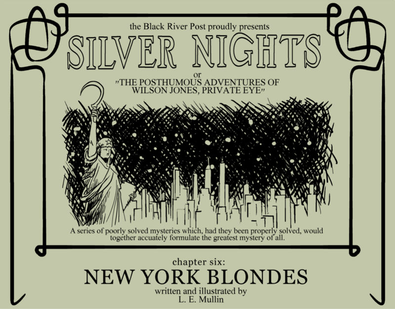 NEW YORK BLONDES Cover