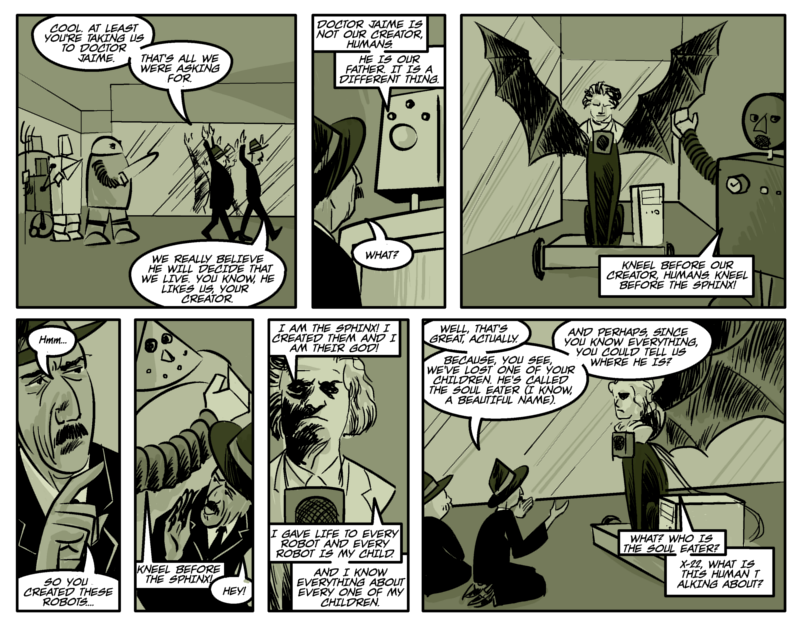 THE RIDDLE OF THE SPHINX Page seven