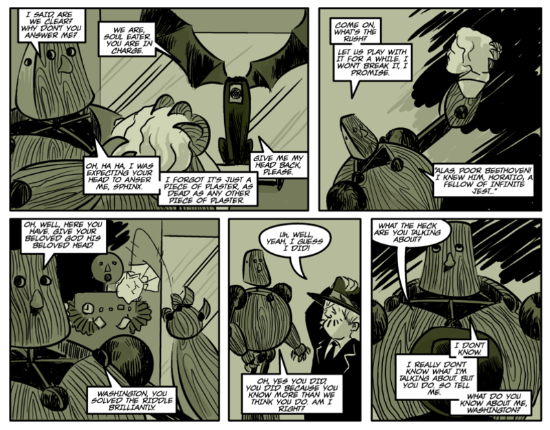 THE RIDDLE OF THE SPHINX Page thirteen